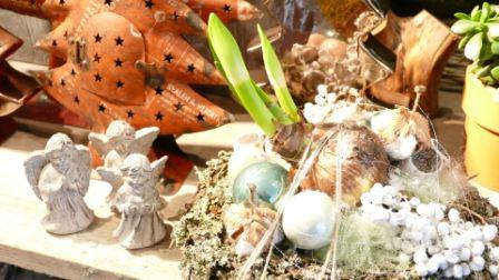 Kerststuk Ateliertuin met Amaranth dry 21kB